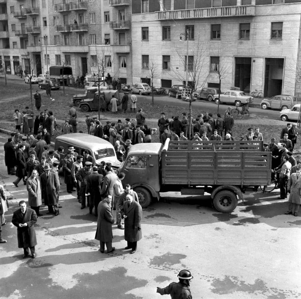 Rapina di via Osoppo, 1958, Archivi Farabola