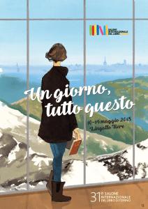 La locandina del Salone del Libro 2018, illustrata da Manuele Fior