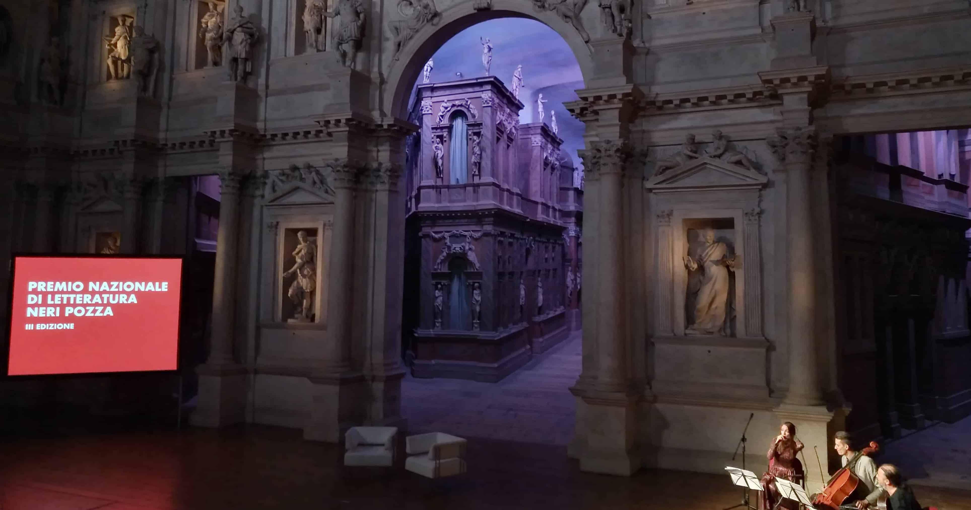 Cerimonia di premiazione Premio Nazionale di Letteratura Neri Pozza 2017 - Teatro Olimpico di Vicenza. Credit: Cristina Resa