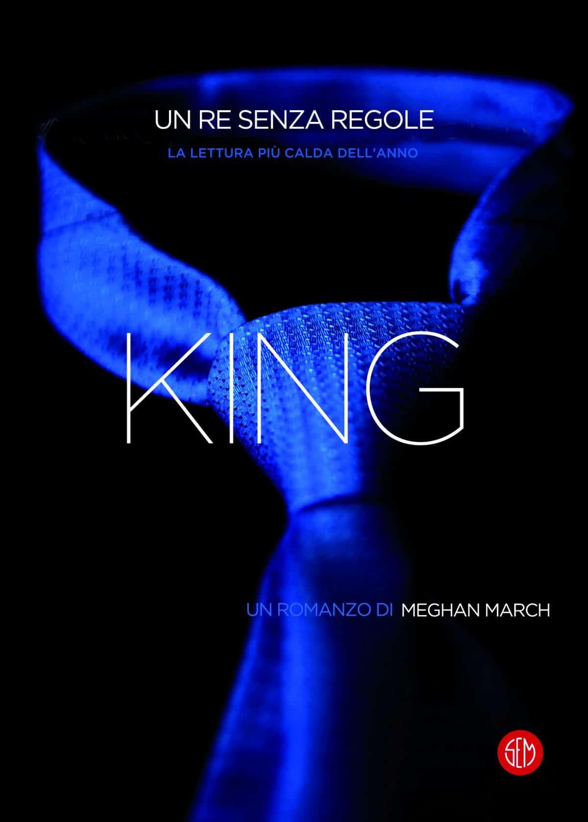 Copertina King. Un re senza regole di Meghan March, SEM