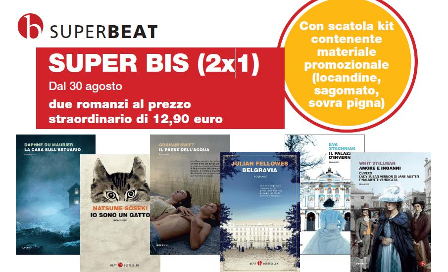 Campagna Beat Edizioni: Super BIS 2x1, due romanzi al prezzo di uno dal 30 settembre