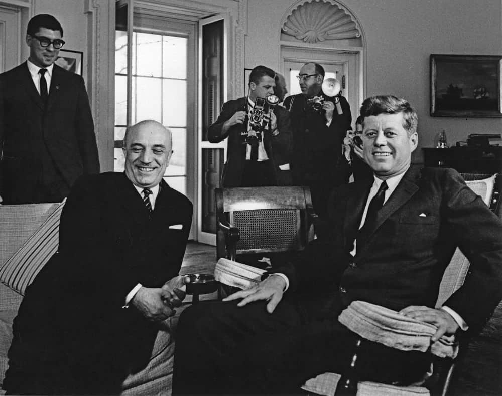 1918 – 2018. Cento anni di Vita e Pensiero - Amintore Fanfani e John Fitzgerald Kennedy