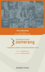 Vito Verrastro, Generazione Boomerang, Rubbettino