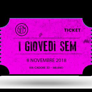 Giovedì SEM, Spettacolo teatrale La lucina di Antonio Moresco