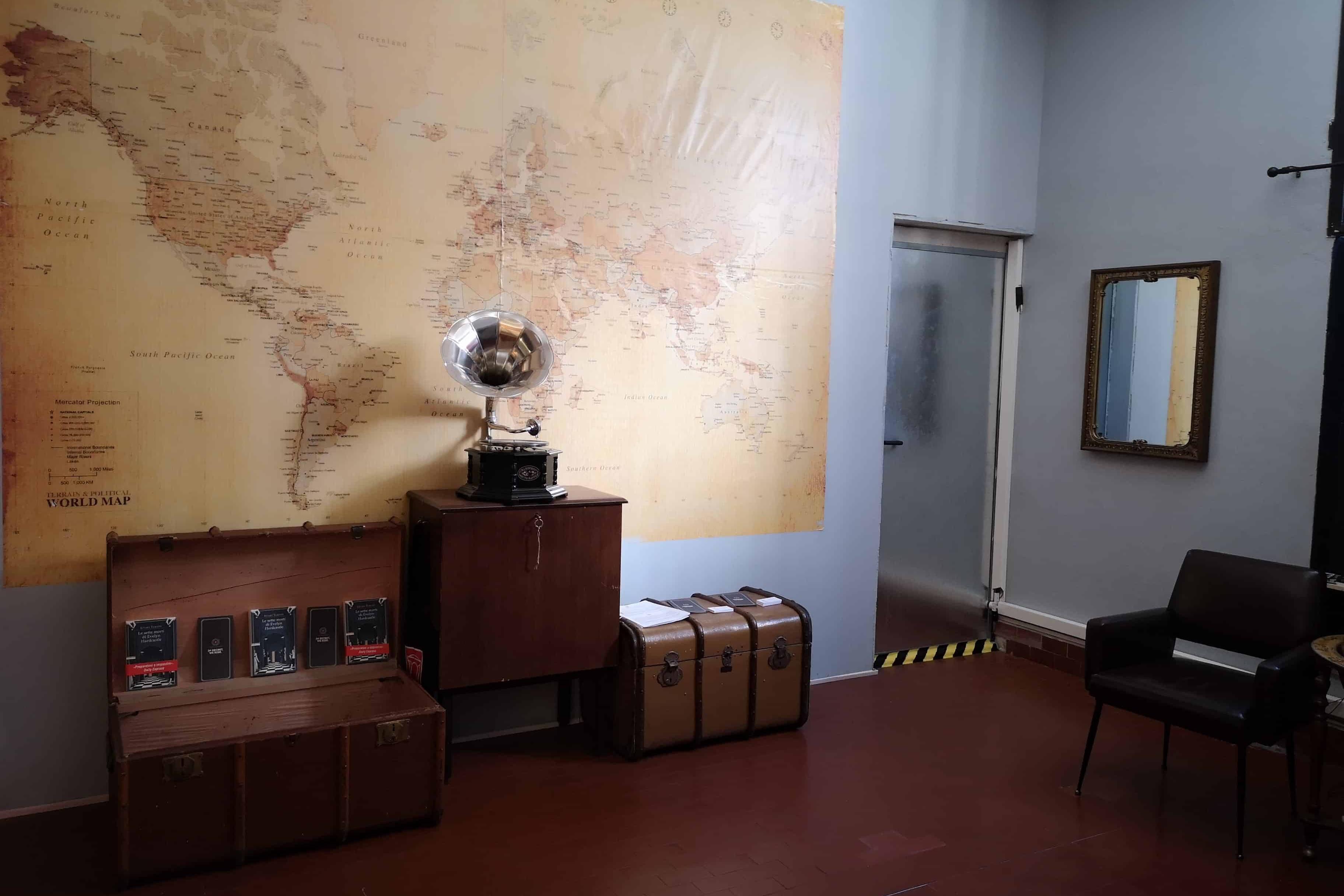 Le sette morti - escape room, ingresso