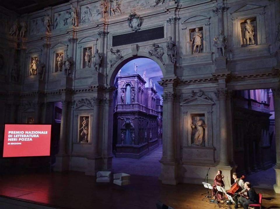 Teatro olimpico di Vicenza, cerimonia di premiazione della scorsa edizione di Premio Neri Pozza