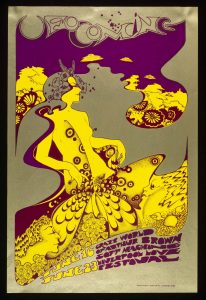 Poster di The Crazy World of Arthur Brown - UFO, Giugno 1967, Hapshash and the Coloured Coat