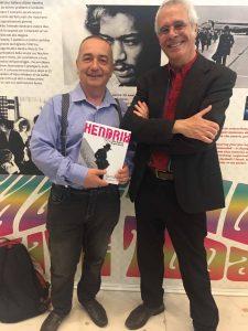 Gli autori di Hendrix '68, Roberto Crema e Enzo Gentile