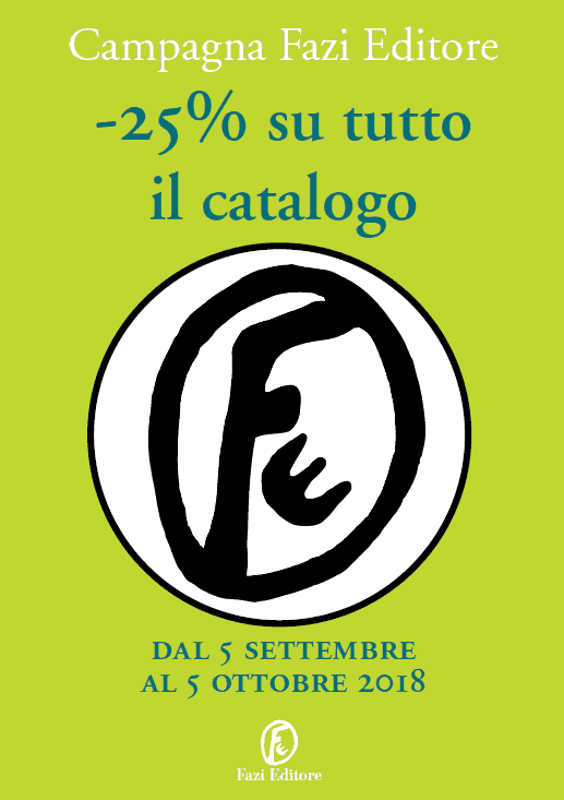 Promozione Fazi Editore: -25% su tutto il catalogo, dal 5 settembre al 5 ottobre