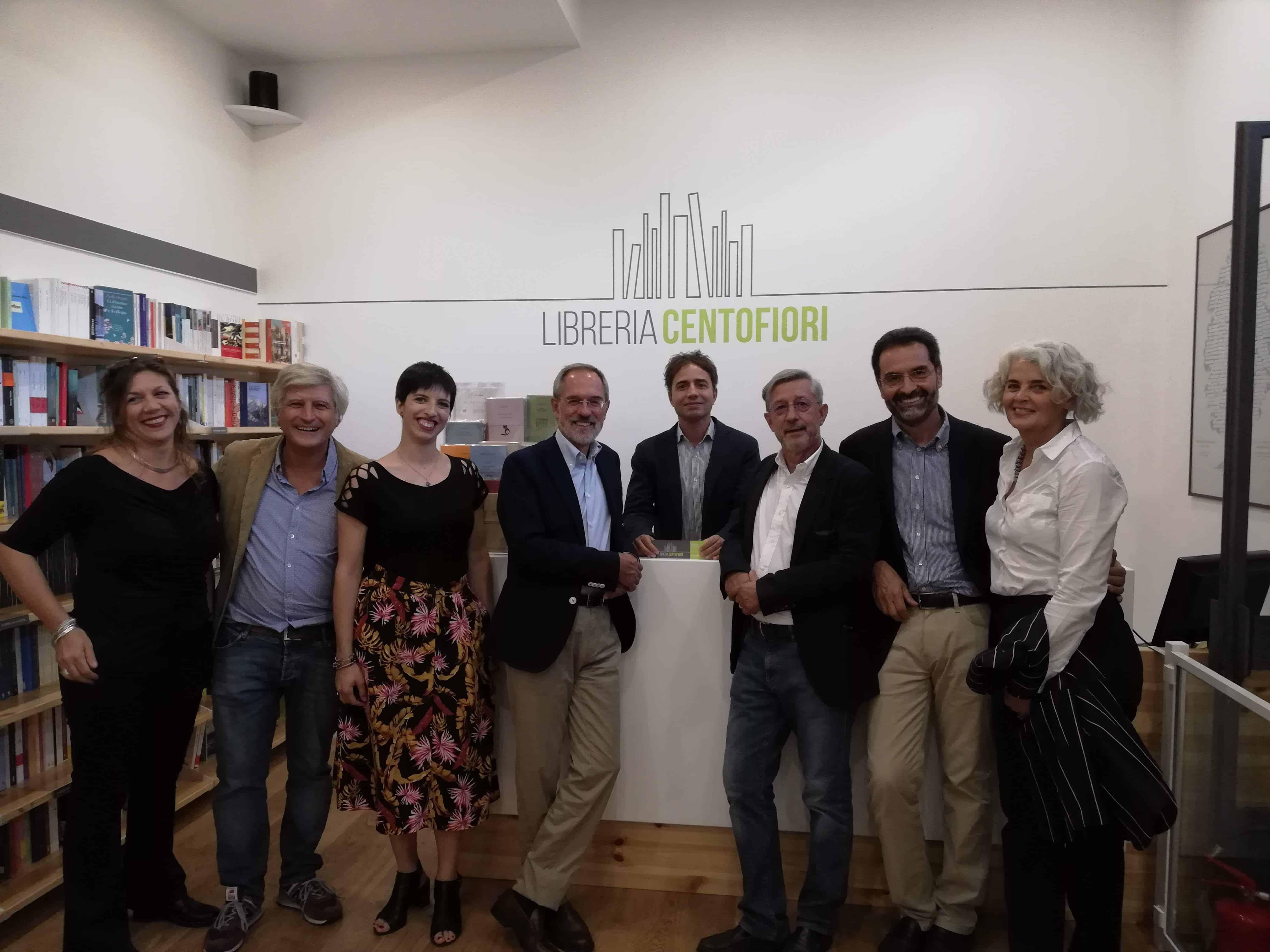 Inaugurazione della Libreria Centofiori