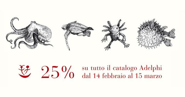 Adelphi: – 25%su tutto il catalogo