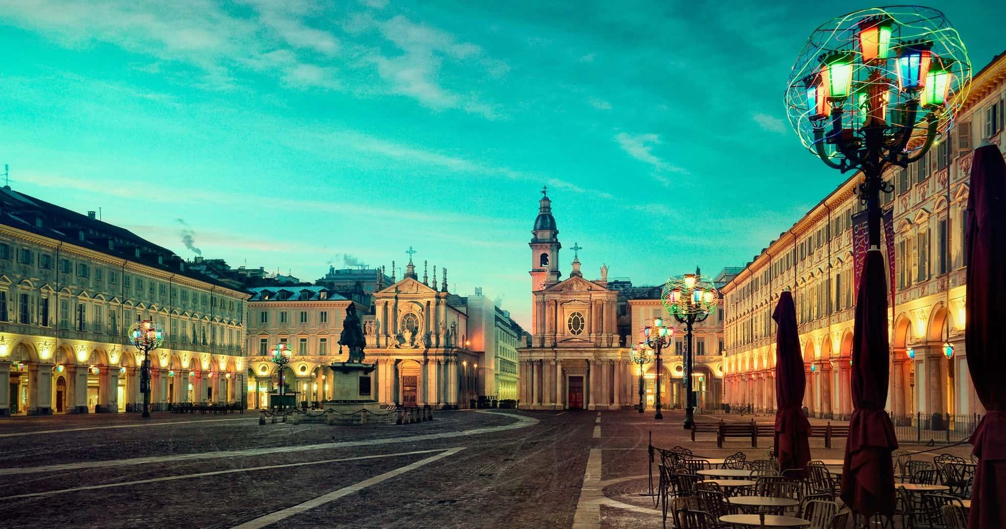 Torino, le immagini, il silenzio