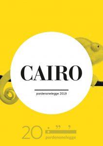 Cairo a pordenonelegge 2019