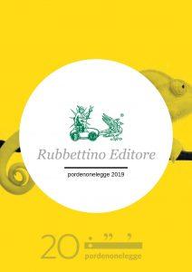 Rubbettino a pordenonelegge 2019
