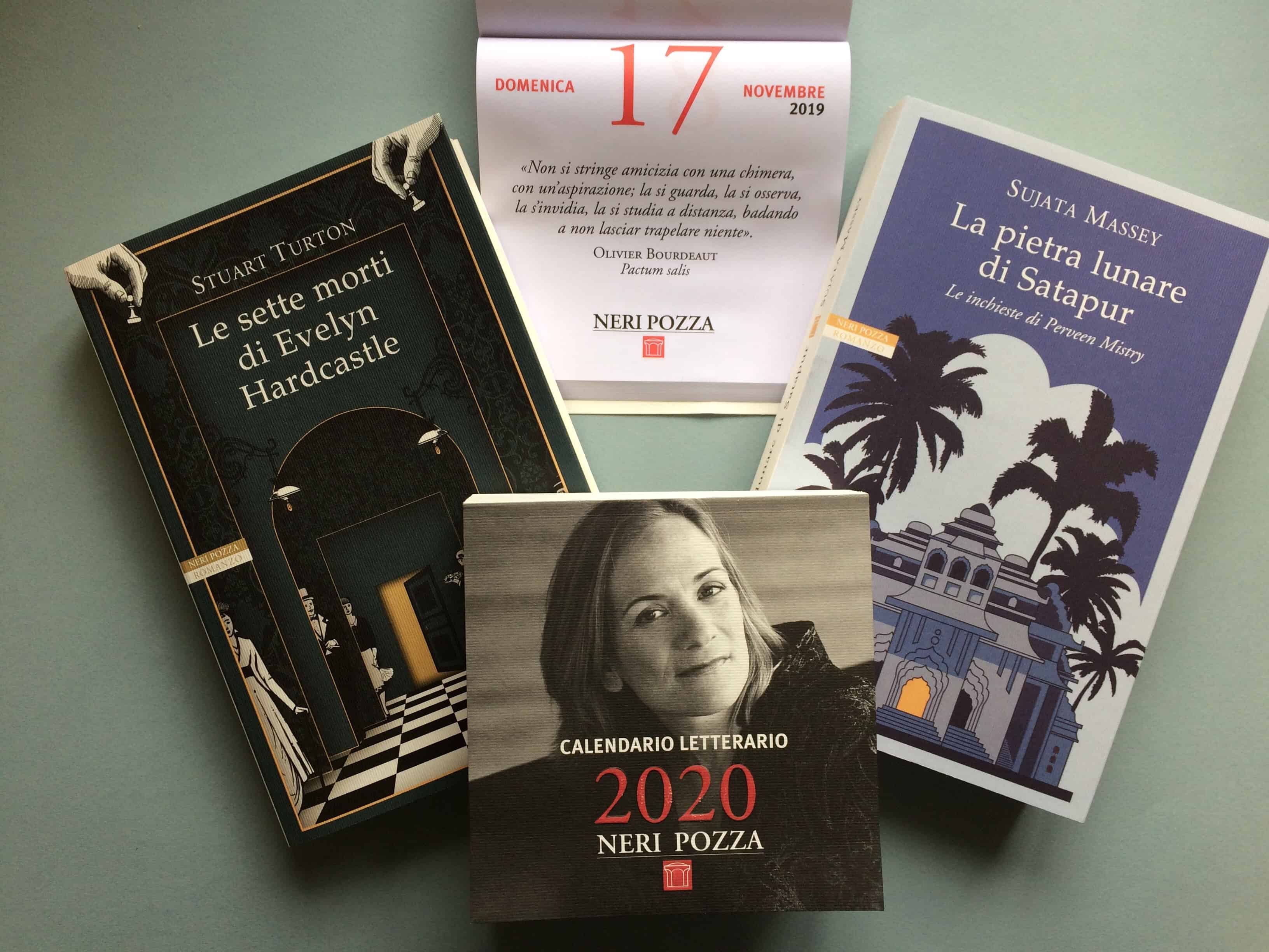 Torna il Calendario Letterario di Neri Pozza!   PDE