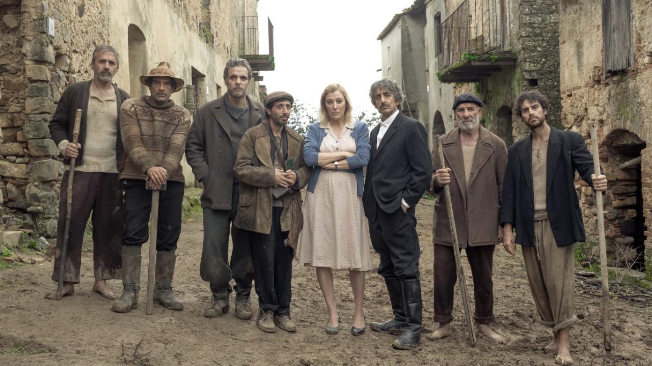 Nella foto Marrapo, Leonardi, Colella, Fonte, BruniTedeschi, Rubini, Spirlì, Gallo. Foto @ Nazareno Migliaccio Spina