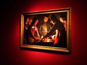 Georges de La Tour, I giocatori di dadi