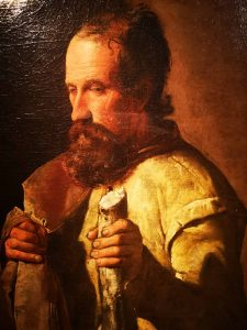 Georges de La Tour, San Giacomo Minore, dettaglio