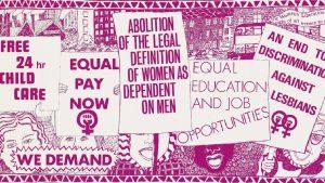 Poster femminista 1974