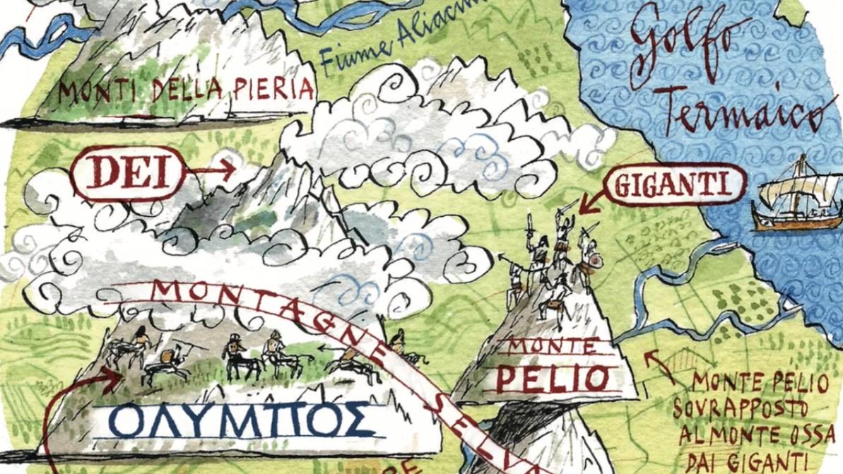 In viaggio con gli dei. Guida mitologica della Grecia, pubblicato da Raffaello Cortina Editore.