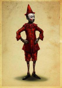 Bozzetto per Pinocchio
