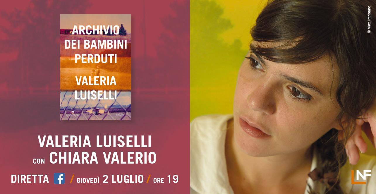 Valeria Luiselli in diretta
