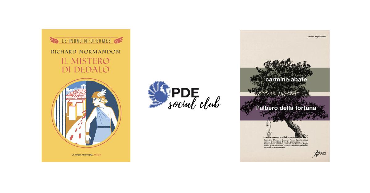 #PDESocialClub: Richard Normandon e Carmine Abate si raccontano in video