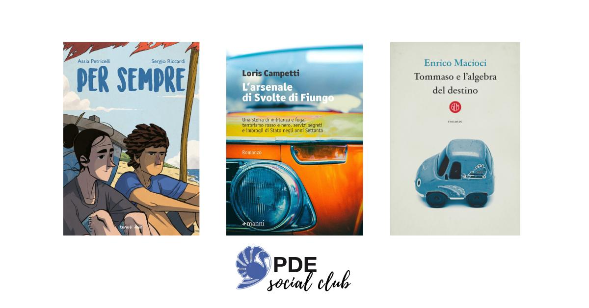 #PDESocialClub: Riccardi, Campetti e Macioci si raccontano in video