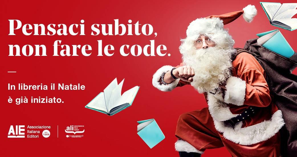 Pensaci subito, non fare le code. In libreria il Natale è già iniziato!