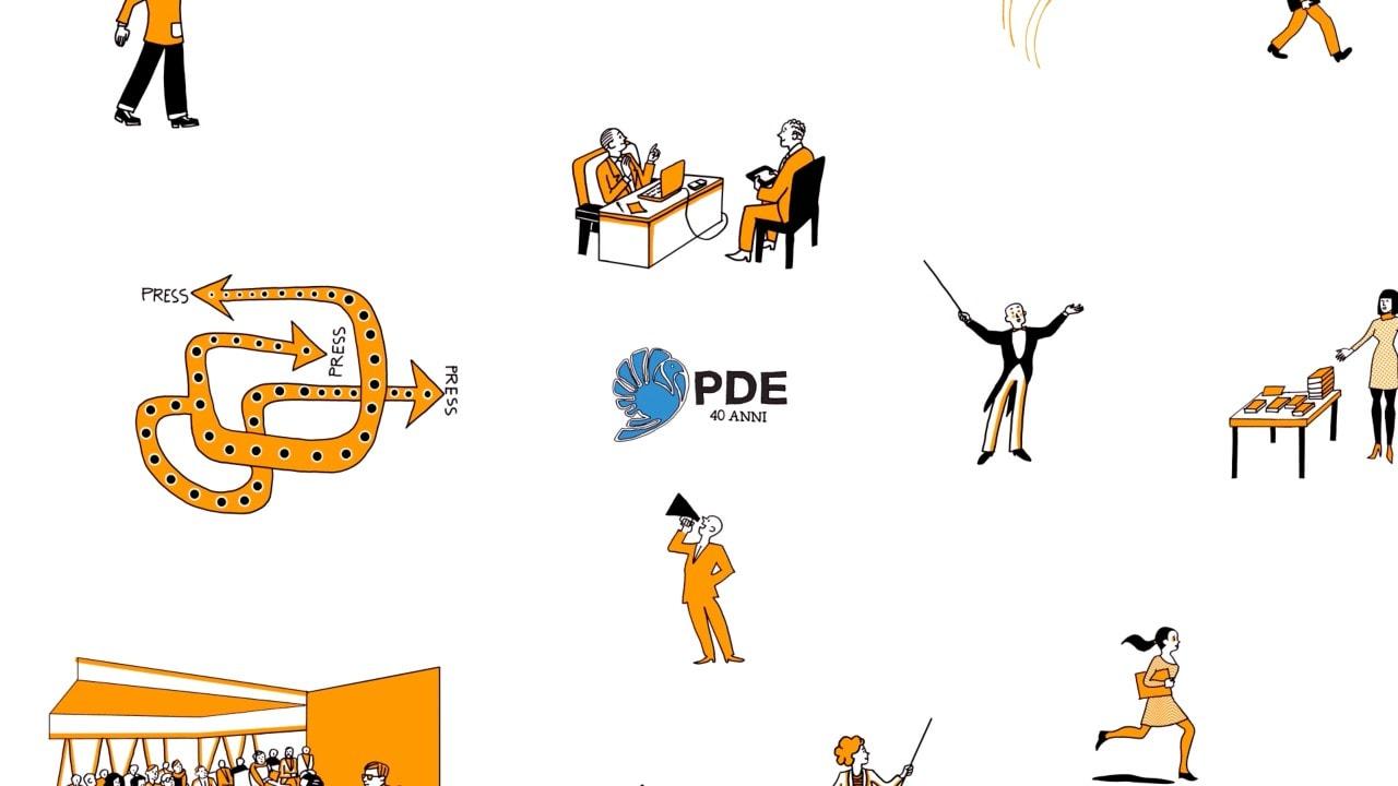 Che cos'è PDE: quarant'anni al servizio degli editori