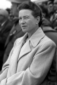 Simone de Beauvoir a Pechino 1955