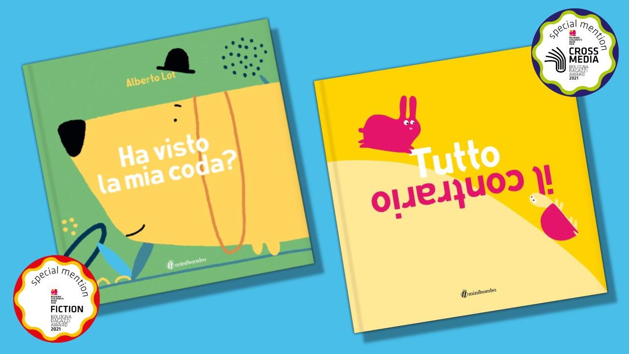 Due premi perMinibombo alBologna Children's Book Fair 2021
