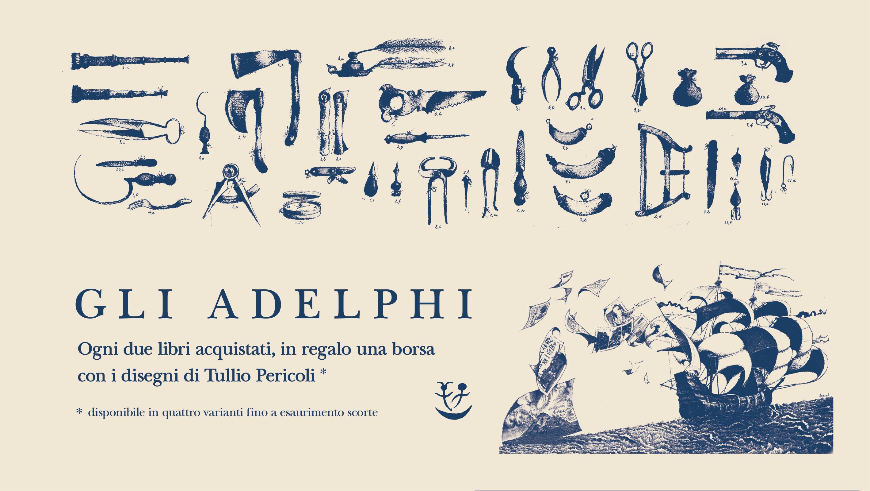 In viaggio con GliAdelphi e Tullio Pericoli