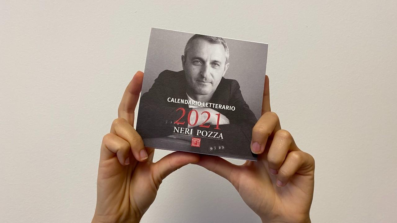 Vi piacerebbe trovare la vostra citazione preferita nel Calendario Neri Pozza 2022?