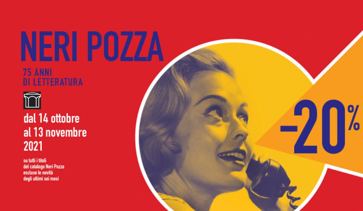 Un mese di sconti Neri Pozza per i 75 anni della casa editrice